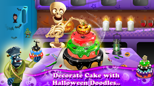 Halloween Town Decoration Et Dancing Party Jeux  captures d'écran 1