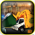 Garbage Truck City Driver 3D icon