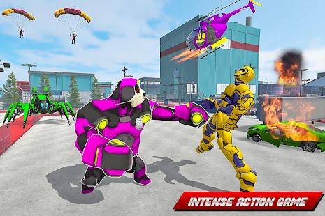 Panda Robot Helicopter Transform Battle Games for PC-Windows 7,8,10 and Mac apk screenshot 5