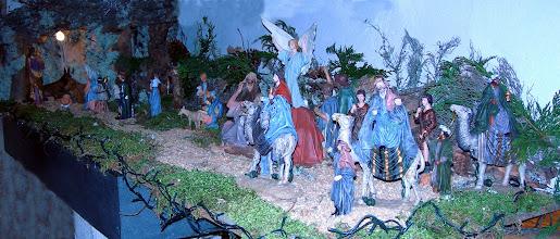 Photo: Belén en la iglesia, Navidad 2009