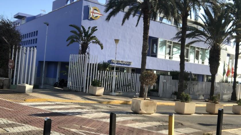 Sede del Club de Mar de Almería.