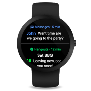 Wear OS by Google (früher Android Wear) Screenshot