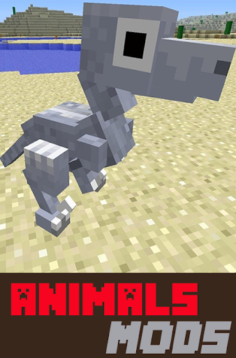 Animals Mods For MCPE