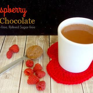 Raspberry Hot Chocolate (Paleo, Dairy-free, Refined Sugar-free)
