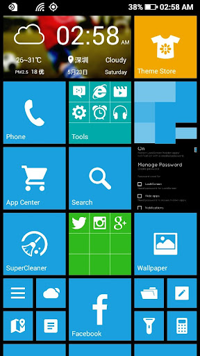 WP Launcher (Windows Phone Style) screenshot 7
