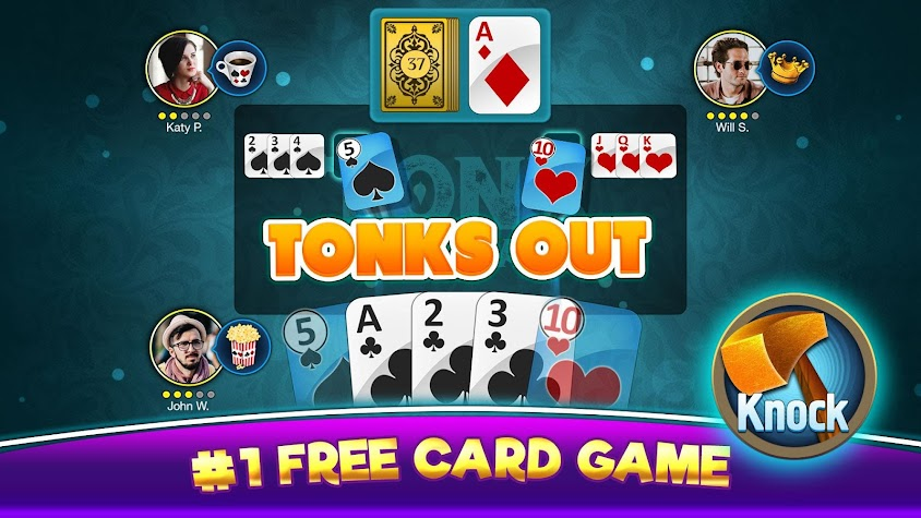 Tonk Multiplayer - Online Card Game For Free Screenshot