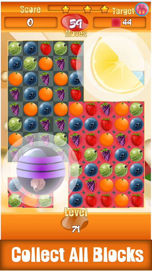 Berry Sweet Boom - Match 3- screenshot
