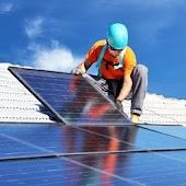 Panel solar project