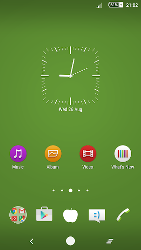 Green Apple Theme