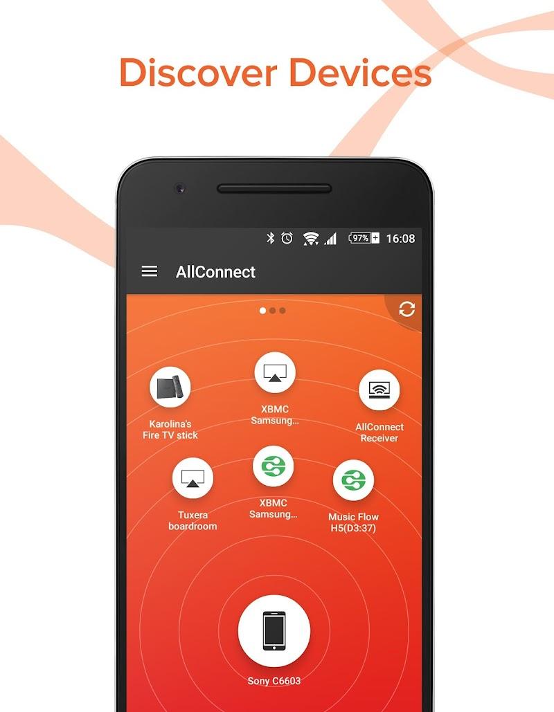AllConnect - Play & Stream Screenshot