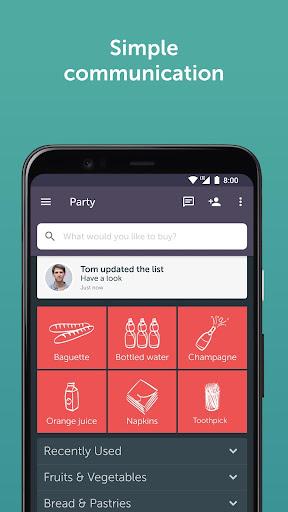 Bring! Grocery Shopping List 3.51.0 screenshots 4