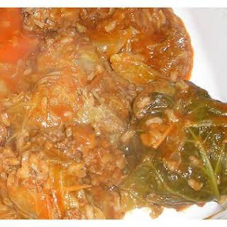 Stuffed - Cabbage Rolls.