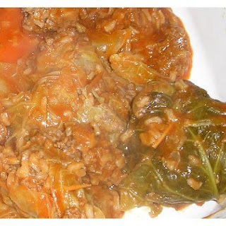 Stuffed - Cabbage Rolls.