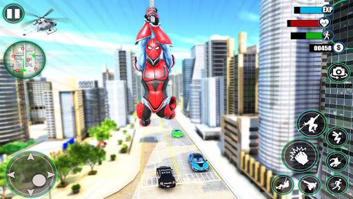 Amazing Spider Iron Hero - Crime City Simulator