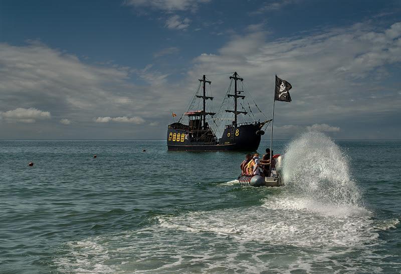In viaggio con i pirati di Moreno re