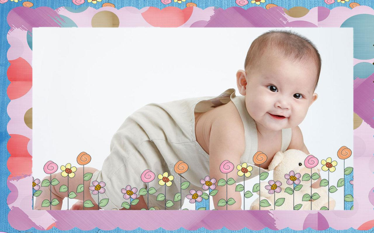 baby photo editor frames free screenshot