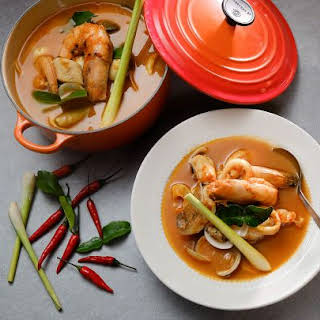 Thai Style Bouillabaisse.