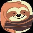 [우가] 행복한 나무늘보 (Happy sloth) - 카카오톡 테마 icon