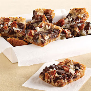 Chocolate Chunk-Magic Cookie Bars