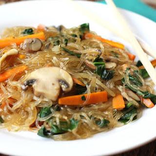 Jap Chae / Chap Chae – Korean Glass Noodles.