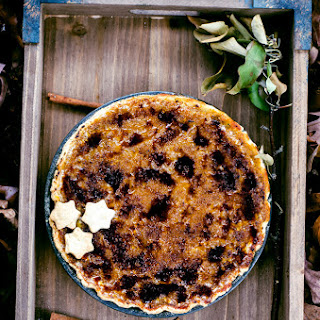 Bruleed Butternut Squash Pie with Brown Butter Bourbon Crust