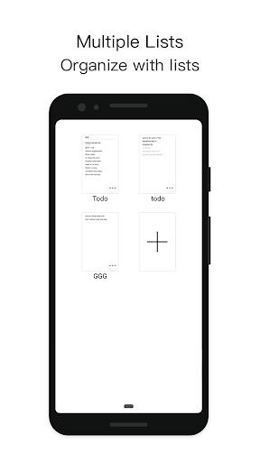 MinimaList screenshot 3