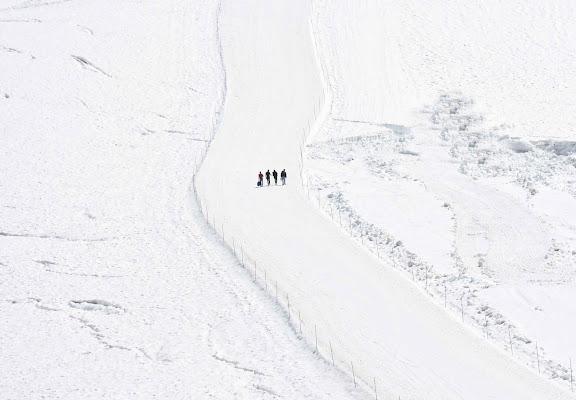 Passeggiata sulla neve di Maria Luisa