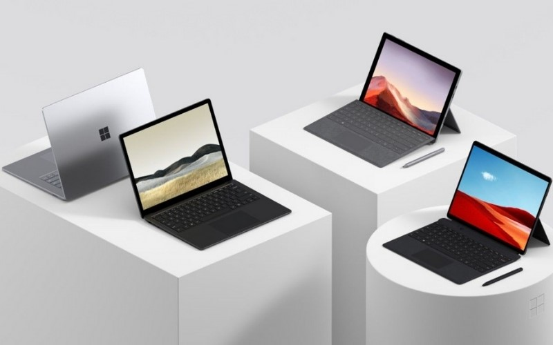 Thiết Kế Surface Laptop 3