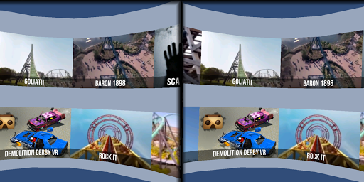 VR Thrills: Roller Coaster 360 (Cardboard Game) 2.1.7 screenshots 4