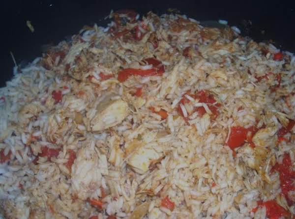 Gma's Chicken ,tomatoes And Rice