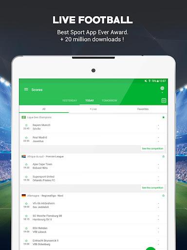 SKORES - Live Football Scores  screenshots 6