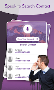 Voice Dialer- Speak To Dial- screenshot thumbnail