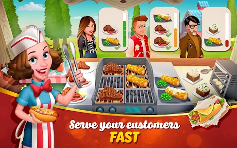 Tasty Town MOD APK 1.17.17 [Fast Cooking] 10