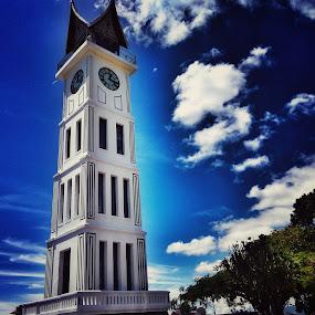 Jam Gadang by Evan Septian - Buildings & Architecture Public & Historical ( #padang #jamgadang #indonesia )