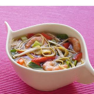 Gevulde Oosterse soep