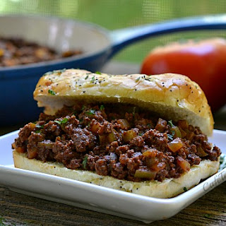 Coffee-Spiked Venison Sloppy Joes