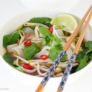 Pho Ba (Vietnamese Beef Noodle Soup)