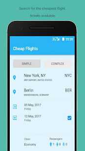 Cheap Flights Airline Booking- screenshot thumbnail