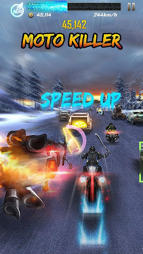 Death Moto 5 : Free Top Fun Motorcycle Racing Game  captures d'écran 1