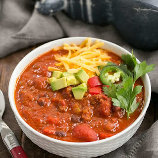 Chili with Black Beans.
