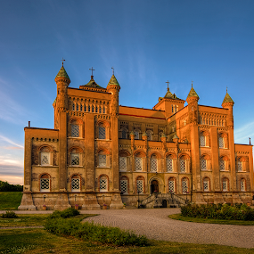 Castle by Manu Heiskanen - Uncategorized All Uncategorized ( sky, towers, castle )