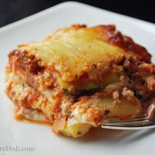 Zucchini Lasagna #RecipeReDux
