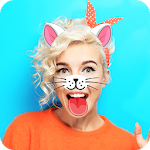 Cute Animal Photo Stickers Cam Icon