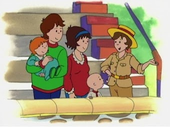 Caillou's birthday present/Caillou and Gilbert/Summer goodnight/Scared of dogs/Goes to the zoo