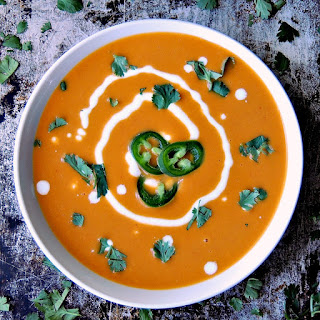 Quick Curried Squash Soup