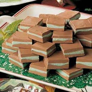 Layered Mint Candies.