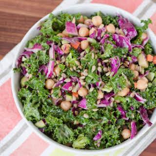 Kale & Cabbage Goddess Salad.