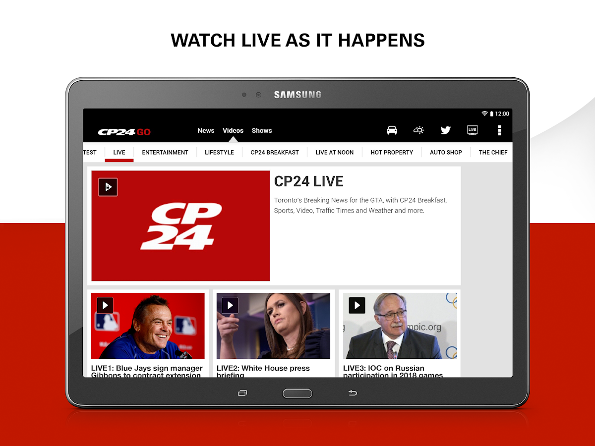 CP24 GO - Android Apps on Google Play