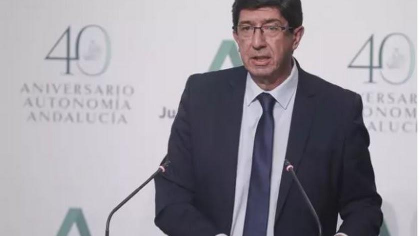 l vicepresidente de la Junta de Andalucía, Juan Marín.