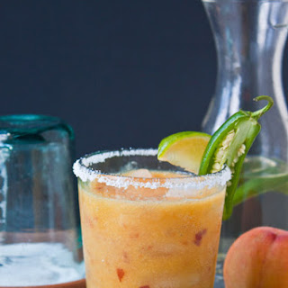 Peach JalapeñO Margaritas Recipe